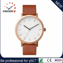 Montre à quartz de montre en acier inoxydable de cheval (DC-1256)