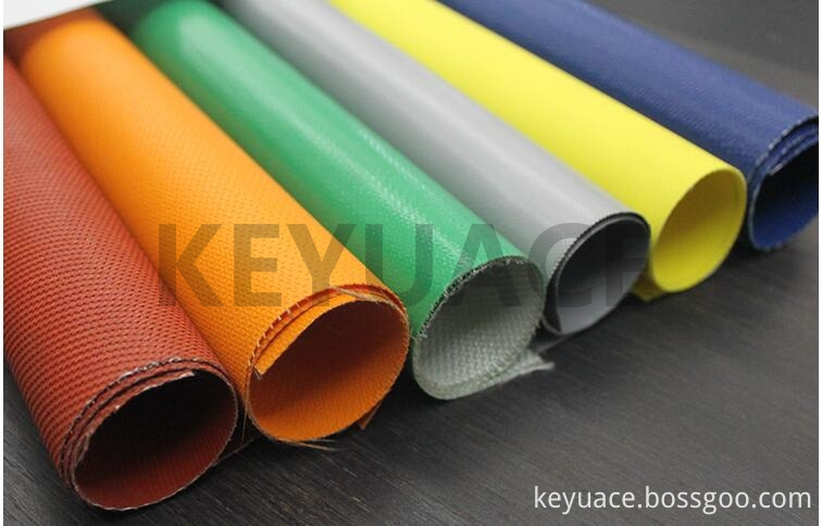 Silicon Rubber Coated Fiberglass Cloth