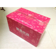 Cartón corrugado del color / caja de regalo expresa / E-Flauta Cartón del color