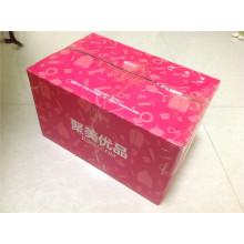 Carton en carton ondulé / Boîte cadeau express / Carton couleur E-Flute