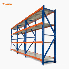 Boltless warehouse storage heavy duty plate racking