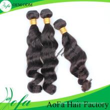 Волнистые Дешевые 100% Человеческих Волос Наращивание Волос