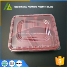 plastic food compartment containers disposable