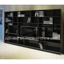 Italian Modern Style Living Room Wooden Display Cabinet (SM-TV06)