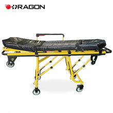 Emergency and clinics apparatus ambulance stretcher trolley