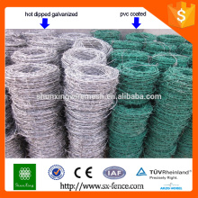 galvanized and pvc coating barbed wire