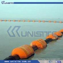 MDPE flotte pour tuyau de dragage avec flexible en caoutchouc (USB054)