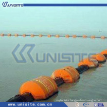 MDPE floats for dredging pipe with rubber hose (USB054)