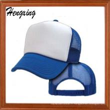 Chapeau de baseball en maille blanche avec votre logo