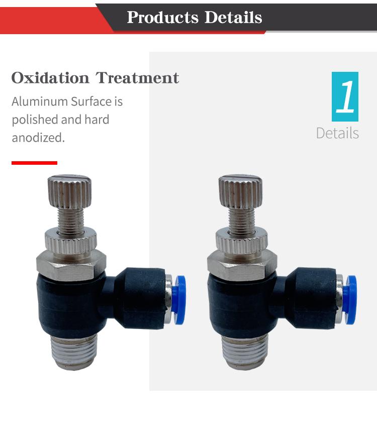 SL pneumatic connector detail