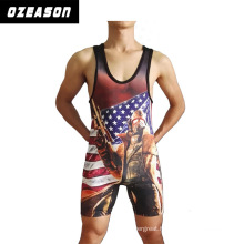 2015 Cheap Custom Lycra Wholesale Blank Wrestling Singlet
