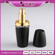 Black Lotion Bottle And Ball Shape Skin Care Packaging 15ml 30ml 50ml 80ml 120ml Frosted Cosmetic Bottle