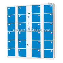 24 doors high quality digital lock supermarket storage locker