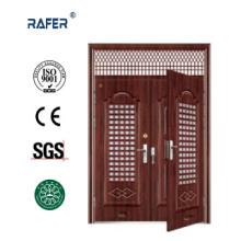 Double Leaf Steel Door in Door (RA-S178)