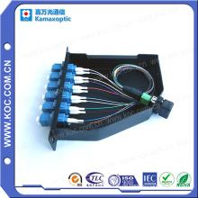MPO-LC Patchcord und Adapter MPO Cassette