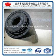 Резиновый лист широко применяется в промышленном Отлитым в форму краем