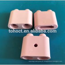 Grânulos de extremidade fêmeas da almofada cerâmica da alumina de 95%