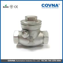 Válvula de retenção de aço inoxidável 304