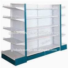 Supermarktregal für mittelschwere Lagerung