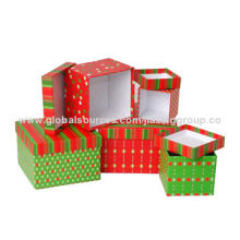 Fashionable Colorful Rates of Paper Boxes, OEM Orders are Welcome