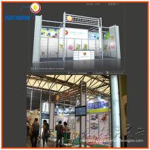 портативный алюминиевый дисплей торговой выставки будочки выставки, дизайн выставки система индикации
