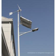 Luz de calle híbrida Solar 100W viento