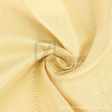 Woven Aramid Cloth Plain Color Yellow Aramid Fabric