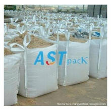 Cross Corner Loops Top Open Bulk Bag for Sand