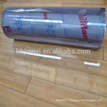 feuille transparente molle de PVC