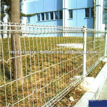 double loop wire circle metal fence