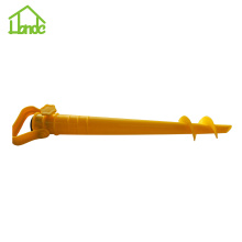 Sand Auger and Fishing Pole Sand Anchor