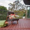 New design Solid WPC decking Hard wearing Co-Extrusion composite deck. Waterproof WPC outdoor Co-Ex decking floor