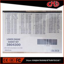 High quality CCEC diesel engine QSK50 KTA50 Lower gasket kit 3801717