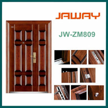 China Yongkang Manufacturer Wholesale Steel Security Door with Competitive Price