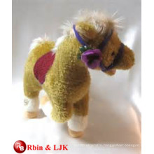Meet EN71 and ASTM standard ICTI plush toy factory stuffed animals horses