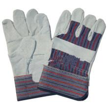 NMSAFETY vache split cuir gant patch gants de sécurité de paume