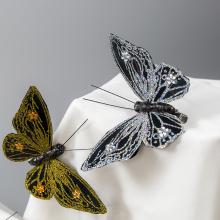 Home made butterfly decorations
