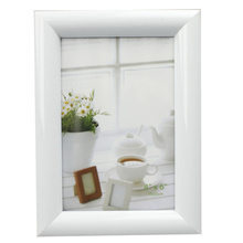 White Round Profile 4x6inch Photo Frame