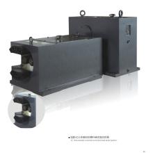 Caja de cambios de doble tornillo SZ55 para extrusión de perfiles de PVC