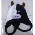 Cálido invierno acrílico sombrero animal buen diseño de punto
