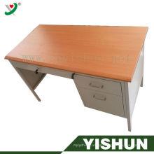 Mesa de escritório executiva moderna / mesa de escritório de madeira / mobília de escritório de madeira