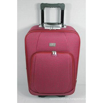 Caja al por mayor del equipaje de la carretilla del viaje de EVA