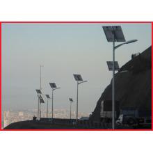 Conception de poteau de lumière solaire