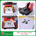 Qing yi custom plastisol heat transfer sticker for the cloth