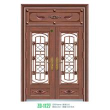 Wrought iron doors and windows