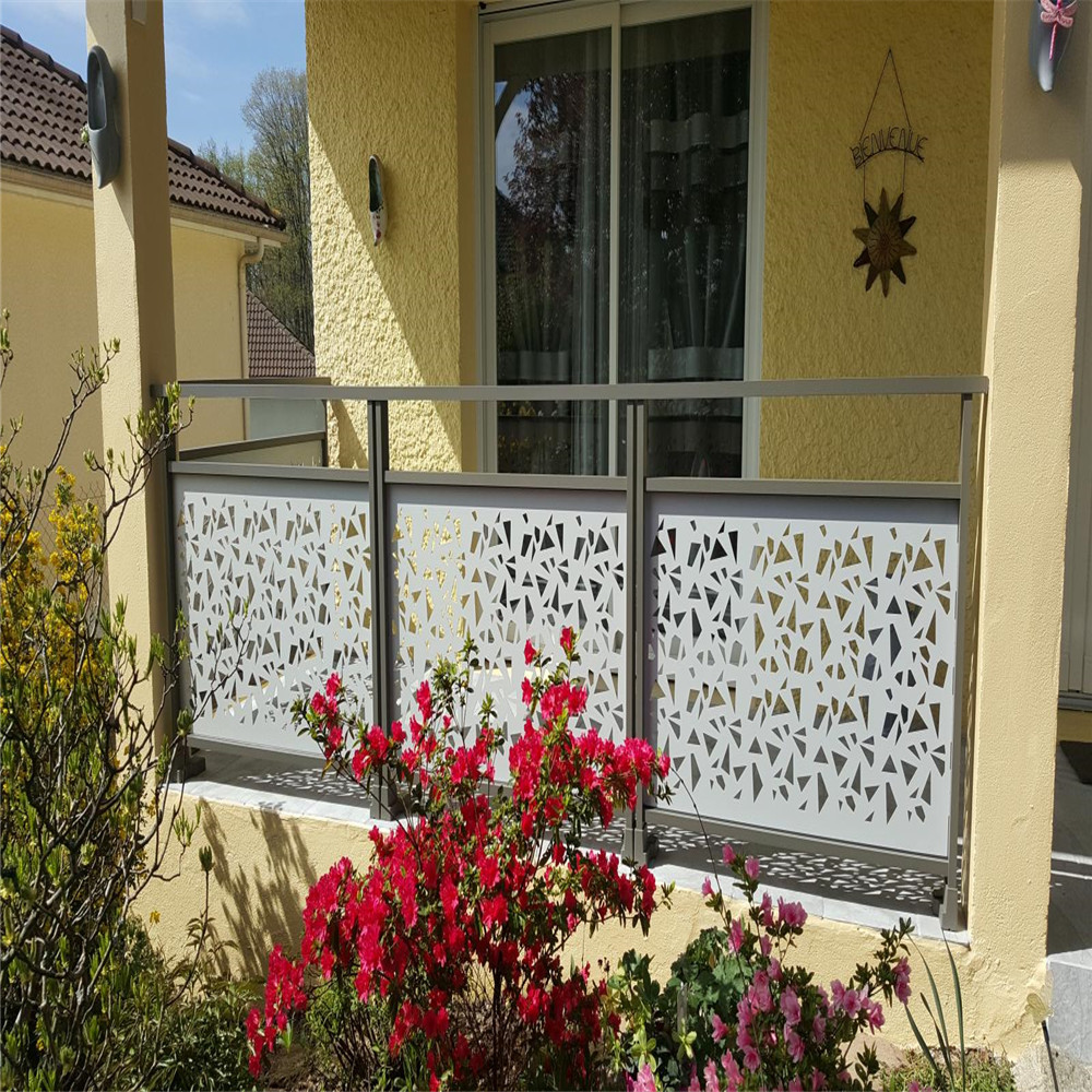Custom Metal Art Railings