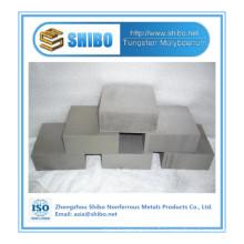 Bloc de molybdène de haute pureté de vente directe d'usine avec la qualité supérieure