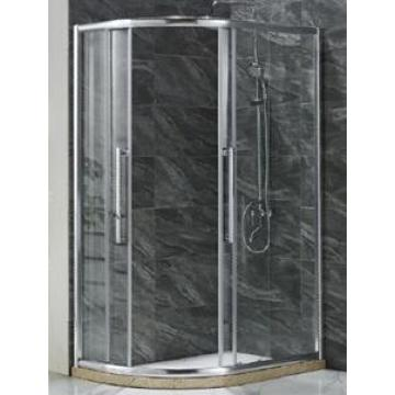 Simple Shower Enclosure with Water Bar (E-15)