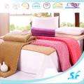 Plain Dyed patrón y tapa de microfibra de relleno fino de colchón