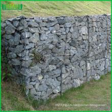ПВХ Габионный камень, поддерживающий стену